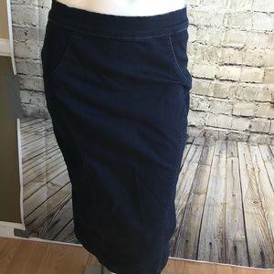 Dark jean skirt from New York & company